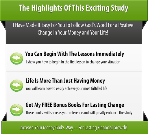 Your Financial Breakthrough Features
