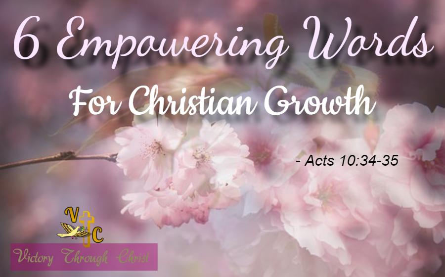 Christian Emppowerment