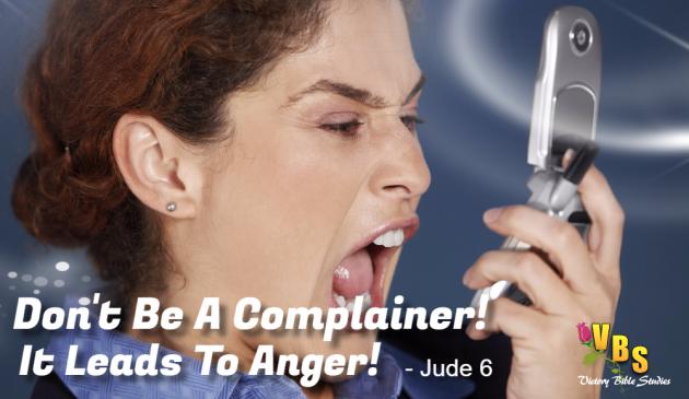 Complaining Is Dangerous
