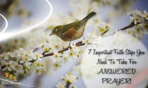 7 Important Faith Steps!