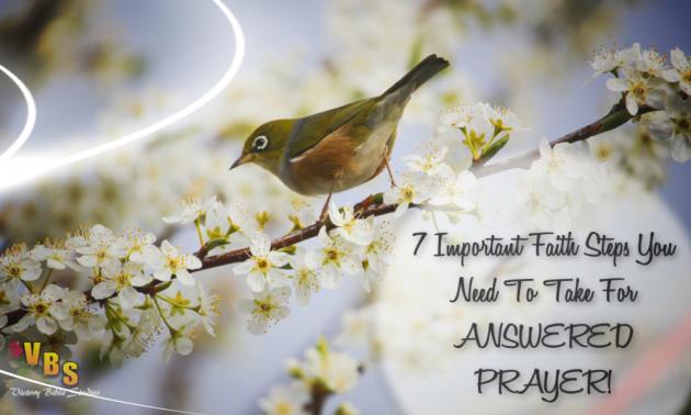 7 Important Faith Steps