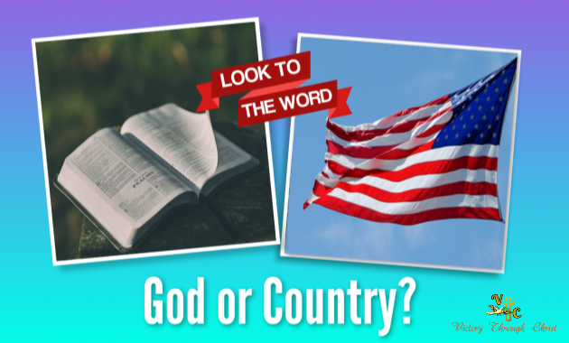 How To Follow God and Country