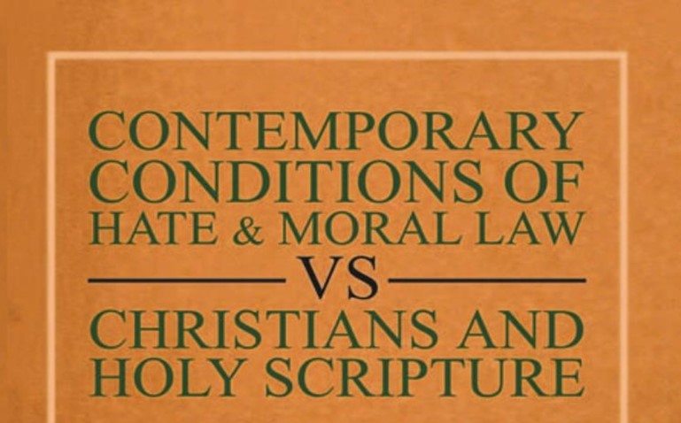 Contemporary Conditions Of Hate and Moral Law blog post.